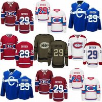 a491f7378ab ... Cheap Mens Montreal Canadiens 29 Ken Dryden Stitched Best Quality Hot  Sale 100% Embroidery Logo Reebok ...