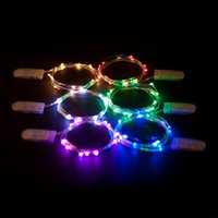Bianco / Bianco caldo / Rosso / Rosa / Verde / Blu / Viola / Giallo / Colore RGB 2M 20LEDs Micro String Lights LED Battery Operated on 7.5 Feet