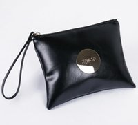 Wholesale Coin Purses Sale - 1Pcs MIMCO Medium Pouch Small Rice Rose Red Large MIMCO Patent Leather Wallet Handbag For Women Clutch Bags MIMCO Purse Hot Sale