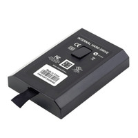 Wholesale 256gb Hard Drive - 500GB 360GB 120GB 500G 360G 120G Internal HDD Slim Hard Drive Disk for Microsoft for Xbox 360 XBOX360 Official Systerm Games Enclosure