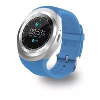 iphone смартфон оптовых-новые U1 Y1 смарт-часы для Android Smart Watch Samsung сотовый телефон часы Bluetooth для Apple Iphone с U8 DZ09 GT08 с розничной упаковке