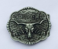 Wholesale Cowboy Up Wholesale - Cowboy Up Bull Belt Buckle SW-BY441 suitable for 4cm wideth belt with continous stock free shipping