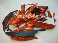 Wholesale R6 Rear Seat Cover - Injection Mold Fairing Kit With Rear Seat Cover Half Tank Fit YZF600 R6 2006-2007 YZF 600R6 06-07 Orange 10V60