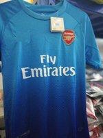 Wholesale Polka Dot Jersey - 2017 new Gunners OZIL soccer jersey 17 18 ALEXIS WILSHERE GIROUD LACAZETTE CHAMBERS XHAKA home away 3rd football shirt free shipping S-4XL