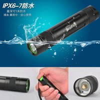 Wholesale Xenon Wholesale Strobe - Wholesale-Mini Pocket Led Flashlights Cree XPE Leds Aluminum Alloy Camping Torch 5 Mode Strobe Flash SOS Outdoor Hand Xenon Led Lamp