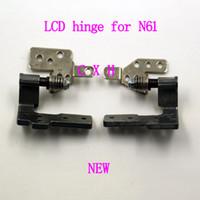 Wholesale Asus N61vg - brand new LCD hinge for asus N61 N61VG N61VF N61VN laptop screen hinges free shipping