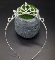 Wholesale Novelty Tiaras - In Stock Great Deal Rhinestone Pearls Crowns Jewelries Cheap Kids Wear Little Girls' Head Pieces Wedding Partys Flower Girls' Crown