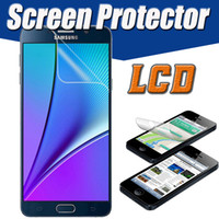 Wholesale Iphone Protector Clear Lcd - Transparent Clear LCD Screen Protector Anti-Scratch Guard Film Protective For iPhone X 8 7 Plus 6S 5 5S Samsung Galaxy S8 Note 8 with Cloth