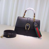 Wholesale Top Brand Ladies Bags - Top quality women European and american brand new lady real Leather artsy handbag tote bag purse