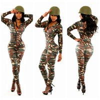 Wholesale Sexy Adult Party Woman Costume - Wholesale-Sexy Adult Women Army Uniform Costume Sexy Party Costumes Soldier Women Dress Camouflage Color Halloween Masquerade costume