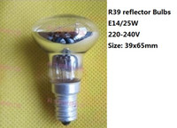 oven bulbs - 10pcs E14 W R39 R50 E14 W Reflector Refrigerator Microwave Oven Lighting Source Lights Lamp Bulbs