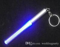 Mini LED Lightsaber Flashlight Keychain de cadeau de Noël pas cher