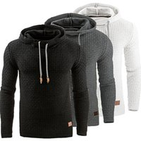 Wholesale Hair Jacket - 2017 NEW Fashion Men's Hoodie Solid Sweatshirts Rabbit Hair Collar plus size Men's Jacket men's Coats men outwear black S-XXXXL