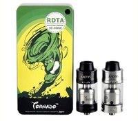 tanque de tornado al por mayor-Alta calidad iJoy Tornado RDTA Tank 5ml Soporte de relleno superior 300w VS Tsunami RDA tfv4single kit