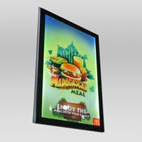 Wholesale box frame poster for sale - Restaurant Menu Poster Frame Lightbox Aluminum Frame Magnetic LED Panel Menu Boards
