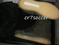 2016 uscita Kanye West 750 Boost 750 uomini stivali casuali WMS Moda Scarpe originali chiari Grey Brown black-out gum rosa scarpe da basket