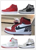 Nueva versión 2017 RETRO High Air JoRdon 1 Mens Training Basketball Tennis Golf Ball Zapatos deportivos Low price wholesale Sneakers sz 40-46