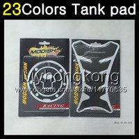 Wholesale Honda Cbr929rr - 23Colors 3D Carbon Fiber Gas Tank Pad Protector For HONDA CBR929RR 00 01 CBR900RR CBR 929 RR 900RR CBR929 RR 2000 2001 3D Tank Cap Sticker