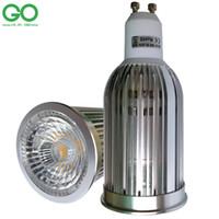 галогенные точечные лампы оптовых-Светодиодный прожектор GU10 9W Затемняемый прожектор bCOB Равномерное освещение 100 Вт Галогенная лампа 110 В 120 В 220 В 230 В 240 В GU 10 Светодиодная лампа Downlight