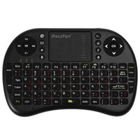 Wholesale Fly Mouse Ipazzport - Ipazzport M2S English Russian Mini Wireless Keyboard 2.4GHz Flying Air Mouse Remote Control Touchpad For Android TV Box PC