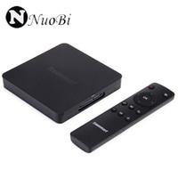 g caja de cuatro núcleos al por mayor-Tronsmart Vega S95 Meta Android TV Box Amlogic S905 Quad Core 2.0GHz 2G / 8G 802.11a / b / g / n 2.4G / 5GHz WiFi dual H.265 4K2K UHD 3D