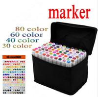 Markers black box animation - Mark Pen TOUCH FIVE Art Markers Black and White Penholder Marker Pens Colors Set Animation Design Paint Sketch Marker Art School Supplie
