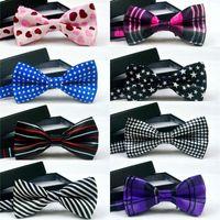 Wholesale Women Bowties - High quality Fashion Men printing Bow Ties Neckwear women bowties Unisex Wedding Bow Tie free shipping