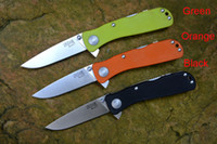 Wholesale sog knives online - SOG Twitch II half automatic Flipper knife C blade G10 handle outdoor survival knife hunting camping EDC tools