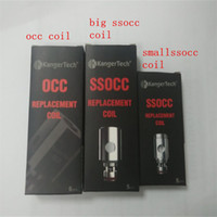 Wholesale Vertical Steel - Kanger ssocc Vertical OCC coils Stainless Steel Organic Cotton coil for topbox mini nano in stock