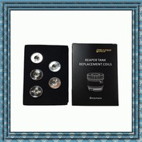 Wholesale Chromium Copper - Original IJOY Reaper Atomizer Coils Copper plating with chromium Ceramic inner wall organic cotton as wicking adjustable airflow system DHL