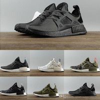 Wholesale NMD XR1 boost runner PK Mastermind Japan Triple Black White Blue Duck Camo Pack Olive Mens Women sports running shoes sneakers Eur