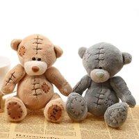 Wholesale Teddy Bear Best Gift - Hot Sale 2016 New Arrival Stuffed Dolls 16CM Mini Teddy Bears Patch Bears Plush Toys Best Gift For Children