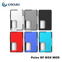 Wholesale Pulse Batteries - Original vandyvape PULSE BF BOX MOD ecig vaporizer vape mods Pulse BF Squonk Mod 8ml Compatible with both 20700 battery and 18650 batter