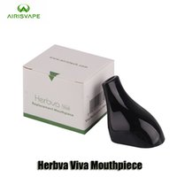 Wholesale Dry Herb Vaporizer Tips - 100% Original Airis Herbva Viva Replacement Mouthpiece Drip Tips For Herbva Viva Dry Herb Vaporizer Vape Pen Kit