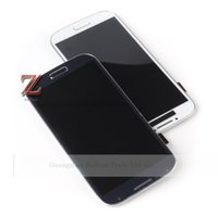 cadre d'écran i545 achat en gros de-Gros-Original i9505 lcd pour samsung galaxy S4 lcd I9500 i337 I545 LCD écran tactile digitizer avec cadre bleu foncé livraison gratuite 1pcs