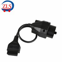 Wholesale Bmw 16 Pin - Wholesale-For BMW 20pin to obd2 16 Pin Connector Free Shipping