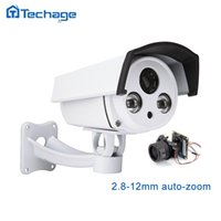 Techage Auto Zoom HD SONY 1080P IP POE камера 2.8-12мм объектив Zoom 2MP Открытый ИК-массив P2P ONVIF видеонаблюдение Безопасность видеонаблюдения