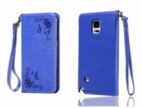 Wholesale galaxy note3 flip cover online - For Samsung Galaxy Note Cover Flip Case Luxury Leather Card Retro Classic Cover For Galaxy Note5 Note4 Note3 Case