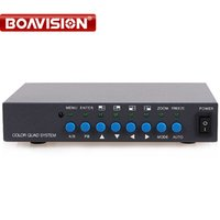 Wholesale Video Processors - 8 Channel Digital Color Quad System Video Processor Splitter BNC Switcher for Security System