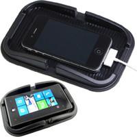 mattenhalter für telefon großhandel-Auto Armaturenbrett Sticky Pad Mat Anti-Rutsch-Gadget Handy GPS-Halter Innenausstattung Zubehör