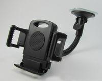 scheibenhalter großhandel-Windschutzscheiben-Auto-Berg-Halter-justierbare Breite Windschutzscheiben-Aufnahme für Samsung-Galaxie-Anmerkung 3 iPhone 6 6s 7 HTC aller Handy