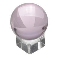 ingrosso vendita di palline di cristallo di quarzo-Vendita superiore Vendita calda Asian Rare Natural Quartz Pure Clear Magic Glass Sfera sfera di cristallo 40mm + Stand Decorazione della casa