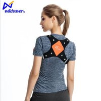 Wholesale Wholesale Running Machines - Wildsaver LED running vest LED & Reflective USB Rechargeable Lightweight Lycra & Mesh Vest w 2 100% polyester and woven fabric Machine wash