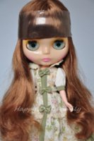 Wholesale Hair Products Girls - nude doll, brown hair, transparent face. hair products grey hair doll gold doll gold
