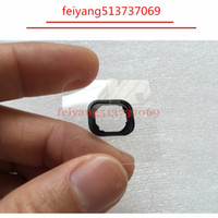100pcs New Home Button Holding Gasket Rubber Spacer For iPhone 5 5c 5s 6 6s 6 PLUS Adhesive Sticker