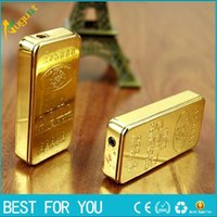 Wholesale Thin Flame Lighter - gold lighter individuality creative ultra-thin metal grinding wheel gas flame smoking lighter torch gas lighter