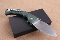 Wholesale free big knife resale online - Cold steel big dog legs CR15MOV HRC folding knife outdoor survival camping hunting knife folding knife