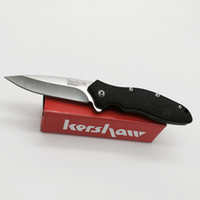 Wholesale New Kershaw Tactical Flipper Folding Knife EDC pocket knife knives Survival pocket knives with Original paper box pack