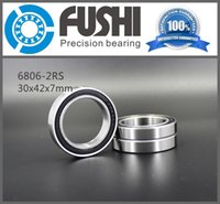 Wholesale 6806 RS Bearing ABEC x42x7 mm Thin Section RS Ball Bearings RS RS MM