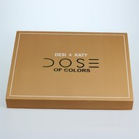 Wholesale Doc Girl - Dose of colors Desi X Katy Set THE GIRLS eyeshadow palette DOC LIMITED Collection 4color Dose eye shadow highlighter MAKEUP SET